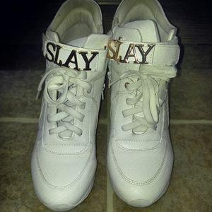 Sneaker Heel Wedge
